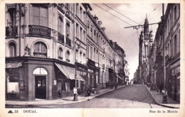 59 - Nord - DOUAI - Rue De La Mairie - Douai