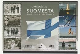 FINLANDE - N°1836/43 ** (2007) Photos Souvenirs De Finlande - Finlande
