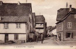 ST-HIPPOLYTE  SAINT-HYPPOLITE Grand'rue - Francia