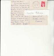 H 4 - Carte Postale BERLIN Avec Cachet Poste Aux Armées - Marcofilie (Brieven)