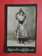 Rare Chromo Photo. Cigarettes OGDENS GUINEA GOLD. Femme Artiste.  RITA - Ogden's