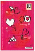 FINLANDE - N°1858/62 ** (2008) Saint Valentin - Finlande