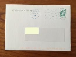PRET A POSTER TSC Voeux Du Président De La République - Timbre Lettre Verte 20g Oblitéré 2012 - Biglietto Postale