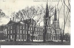 1912 - Cathédrale Et Évêché De St-Hyacinthe, Québec,   (9598) - St. Hyacinthe