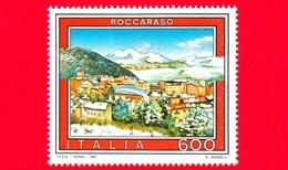 Nuovo - MNH - ITALIA - 1991 - Turismo - 18ª Emissione - Roccaraso (AQ) Abruzzo - 600 L. - 6. 1946-.. Republic