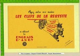 BUVARD :Les Clefs De La Reussite ENGRAIS D'AUBY - Agriculture