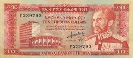 Ethiopia 10 Dollars, P-27 (1966) - Very Fine Plus - Aethiopien