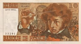 France 10 Francs, P-150g (6.11.1975) - Very Fine - Fayette 63.14 - 1962-1997 ''Francs''