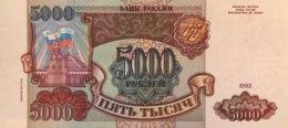 Russia 5.000 Rubles, P-258b (1993/1994) - EF/XF+ - Russland