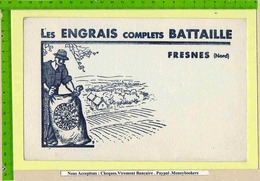BUVARD : Les Engrais Complets BATTAILLE  FRESNES - Agriculture