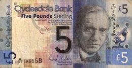 Scotland 5 Pounds, P-229Ib (6.8.2009) - Fine - [ 3] Schottland