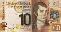 Scotland 10 Pounds, P-229Jb (25.1.2013) - UNC - 10 Pounds
