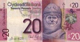 Scotland 20 Pounds, P-229K (11.7.2013) - Very Fine Plus - [ 3] Schottland