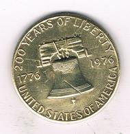 TOKEN 1976 USAB /9342/ - Verenigde Staten