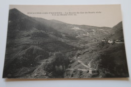 CPA - ENCAUSSE Les THERMES (31) - La Route Du Ger De Boutz Et Du Col De Menté 1331 M - France