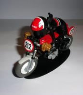 "Figurine Joe Bar ""Chris Deb Bike Et Sa Honda 350 Cb Kitee Racing"" N°18 - Figurines"