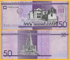 Dominican Republic 50 Pesos Dominicanos P-189 2017(2019) UNC Banknote - Dominicana