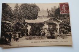 CPA Animée - LOURES BARBAZAN (31) - La Source - 1930 - France