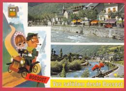 CP-Pireneu Catala- VAL D'ARAN - BOSSOST - Multivues - Blason - Illustration *SUP-2 SCAN- - Autres
