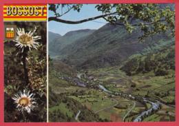 CP-Pireneu Catala- VAL D'ARAN - BOSSOST - Vue Panoramique- Blason *SUP-2 SCAN- - Autres