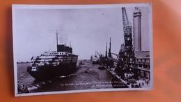 Le Havre - La Gare Maritime De La Cie Gle Transatlantique . Acostage Du Paquebot Normandie - Le Havre