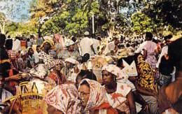 SURINAM Suriname - Pinic Day In KOPIEWEG - CPSM Format CPA - Zuid Amerika South América Sudamerica Amerique Sud - Surinam