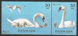"DINAMARCA /DENMARK /DÄNEMARK /DANMARK -EUROPA 2019 -NATIONAL BIRDS.- ""AVES -BIRDS -VÖGEL-OISEAUX""- SELLOS De La HOJITA - 2019"