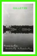 DEAUVILLE, QUÉBEC - AUBERGE DES PINS - AU-PIED-DU-LAC MAGOG -  REAL PHOTO - CIRCULÉE EN 1956 - - Quebec