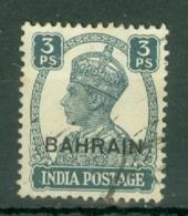 Bahrain: 1942/45   KGVI     SG38     3p    Used - Bahrein (...-1965)