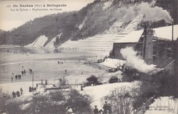 DE NANTUA A BELLEGARDE - Lac De Sylans - Exploitation De Glaces - Frankreich
