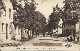 88 - Vosges - Chenimenil - Créche Et Entrée De La Filature - Autres Communes