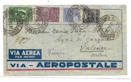 BREZILdevant D'enveloppe   Par Avion  A Dèstination De VALENCE 12 11 1931 - Briefe U. Dokumente