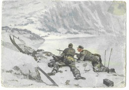 Wehrmacht  - Gebirgsjäger à Narvik   - WWII - Guerra 1939-45