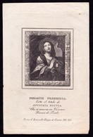 Incisione, Santino: MARIA SS. AVVOCATA NOSTRA - RB - Vicovaro (Tivoli) - XIX Sec. - RI INC002 - Religion &  Esoterik