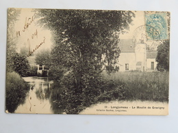 C. P. A. : 91 LONGJUMEAU : Le Moulin De Gravigny, Timbre En 1904 - Longjumeau