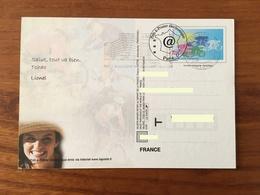 PAP - CARTE POSTALE ELECTRONIQUE VTT Datée Du 20-9-1999 - TRES RARE - Biglietto Postale