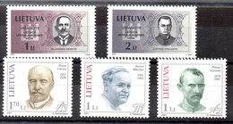 Lituania Series Completas Nº Yvert 657/58-659/61 ** Valor Catálogo 6.0€ - Lituania
