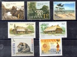 Lituania Series Completas Nº Yvert 666 A 672 ** Valor Catálogo 9.50€ - Lituania
