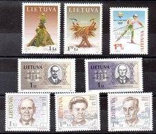 Lituania Series Completas Nº Yvert 676 A 683 ** Valor Catálogo 8.60€ - Lituania