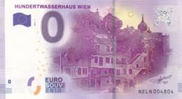 Autriche - Billet Touristique / Souvenir 0 €uro - 2017 / HUNDERTWASSERHAUS WIEN . - EURO