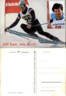 JOZE KURALT SKIING POSTCARD - Wintersport