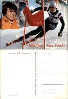 JURE FRANKO SKIING POSTCARD - Wintersport