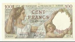 Billet De Cent Francs      Rp.30.10. 1944 Rp Tres Bon Etat - 1871-1952 Anciens Francs Circulés Au XXème