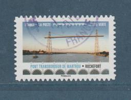 """FRANCE / 2017 / Y&T N° AA 1477 : """"Ponts & Viaducs"""" (Pont Transbordeur De Martrou) - Choisi - Cachet Rond - Adhesive Stamps"""