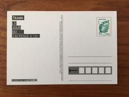 "CARTE POSTALE TSC Le Jour Où ... ""JULES"" - Lettre Verte Marianne De Beaujard - Neuf ** RARE - Biglietto Postale"