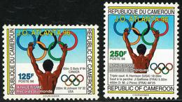 CAMEROUN Cameroon Kamerun 1996 - Jeux Olympiques Atlanta 96 Paire ** (défaut Gomme) Y&T 880-881 - Sommer 1996: Atlanta