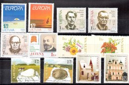 Lituania Series Completas Nº Yvert 736/37-753/55-761/62-766-767/68-756/57 ** Valor Catálogo 12.80€ - Lituania