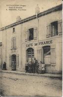 88 - Vosges - Mattaincourt - Café De France - A.Mougel - Autres Communes
