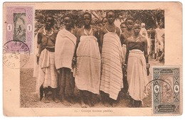 DAHOMEY.GROUPE FEMMES PEUHLES - Dahome