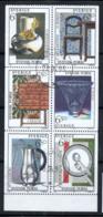 Svezia 1994 Mi. 1828-1833 Usato 100% Design Svedese - Usati